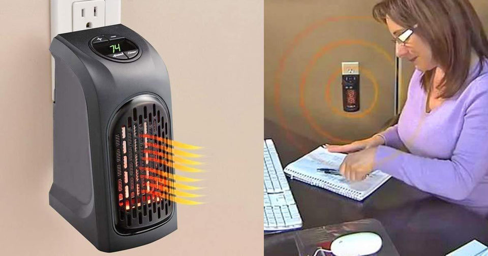 0251 Electric Mini Handy Heater Plug-In Wall (400w) - mstechindia.com