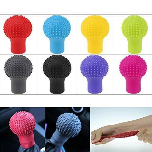 0278 Anti-Scratch Universal Fit Silicon Gear Shift Knob Protective Cover - mstechindia.com