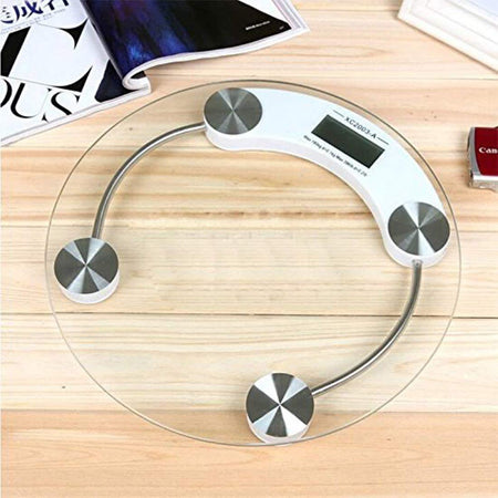 0169 -8mm Electronic Tempered Glass Digital Weighing Scale - mstechindia.com