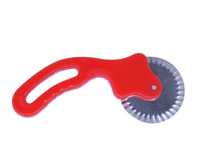 0725 Curly Pizza Cutter/Pastry Cutter/Sandwiches Cutter