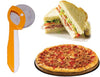 0898 Premium Stainless Steel Pizza/Pastry/Sandwiches Cutter