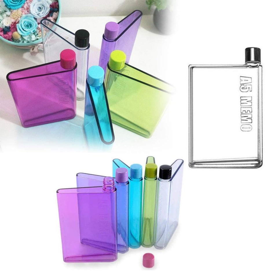 0137 A5 Size Notebook Plastic Bottle (Any olor) - mstechindia.com