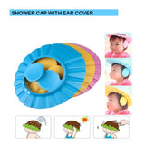 0378 Adjustable Safe Soft Baby Shower cap - mstechindia.com
