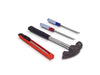 0498 Professional Utility Cutter Set- 4pcs ( Screw Drivers, Hammer and Cutter)