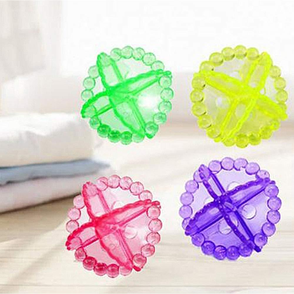 0205 Laundry Washing Ball, Wash Without Detergent (4pcs) - mstechindia.com
