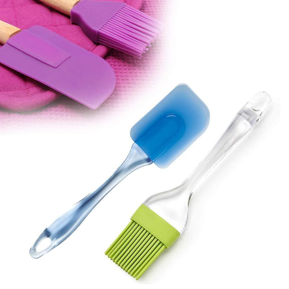 0136 Spatula and Pastry Brush for Cake Mixer - mstechindia.com