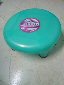 0809  5 Legs Strong Plastic Bathroom Patla Stool for Multipurpose Use