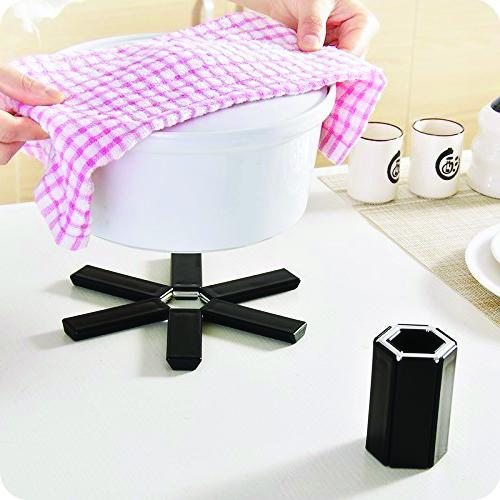0775 Foldable Non-Slip Heat Resistant Kitchen Hotmat