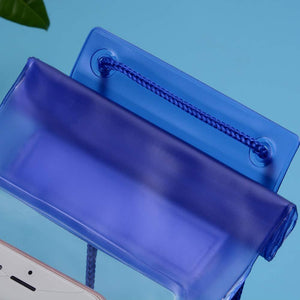 Waterproof Mobile Pouch (6.2 inch , Random Colour)