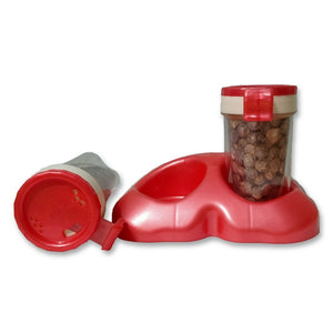 2037  Salt & Pepper Shakers/Masala Dabbi with Stand