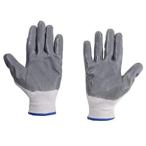 Nylon Safety Hand Gloves -1 pair - mstechindia.com