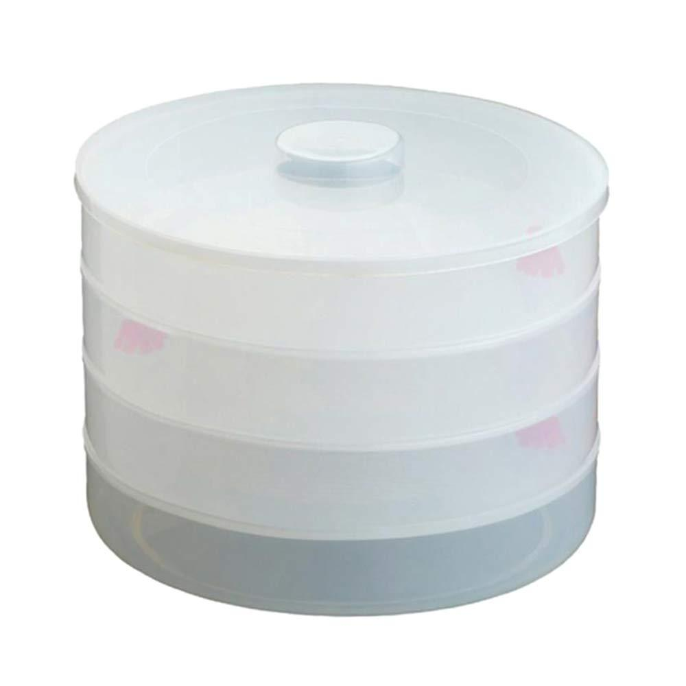 Plastic 4 Compartment Sprout Maker, White - mstechindia.com