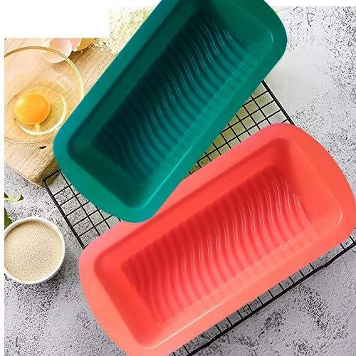 0772 Silicone Square Baking Loaf Mould Tray