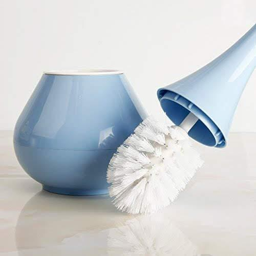 0223 -2 in 1 Plastic Cleaning Brush Toilet Brush with Holder - mstechindia.com