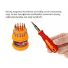 Magnetic 31 in 1 Repairing ScrewDriver Tool Set Kit