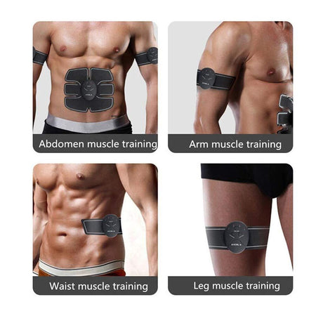0390 Abdominal & Muscle Exerciser Training Device Body Massager - mstechindia.com