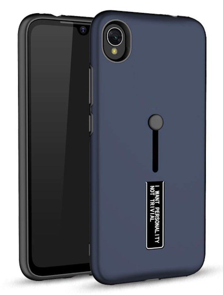 Personality Shock Proof Hybrid Armor Stand Back Cover Case for MI 7A