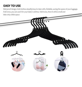 0287 Portable Folding Clothes Hangers / Drying Rack - mstechindia.com