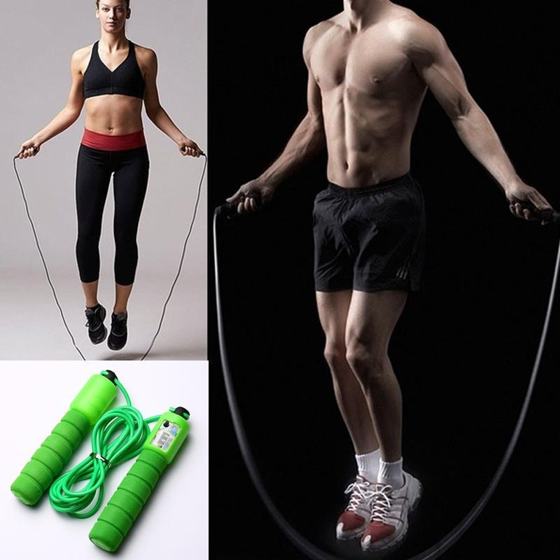 0635 Electronic Counting Skipping Rope (9-feet)