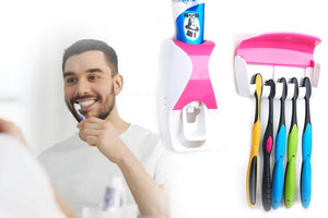 0200 Toothpaste Dispenser & Tooth Brush with Toothbrush - mstechindia.com