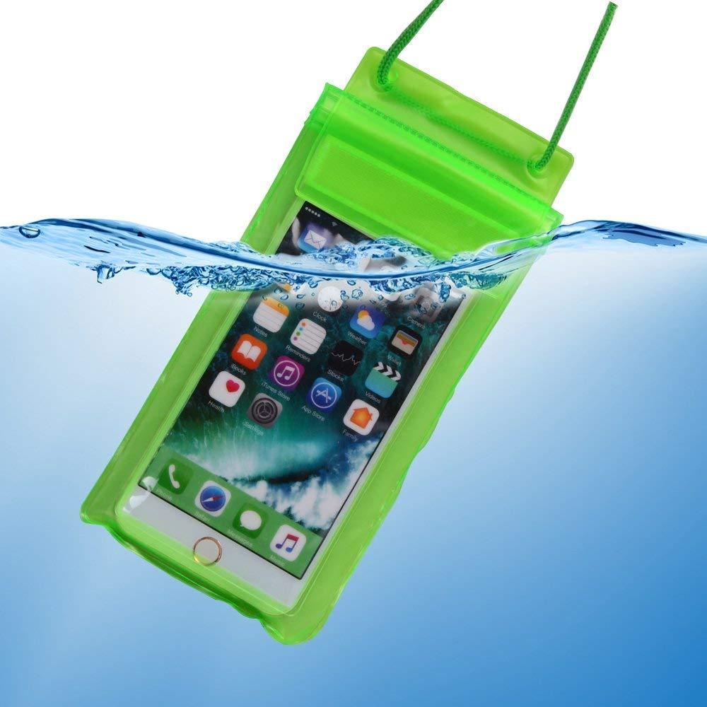 Waterproof Mobile Pouch (6.2 inch , Random Colour) - mstechindia.com