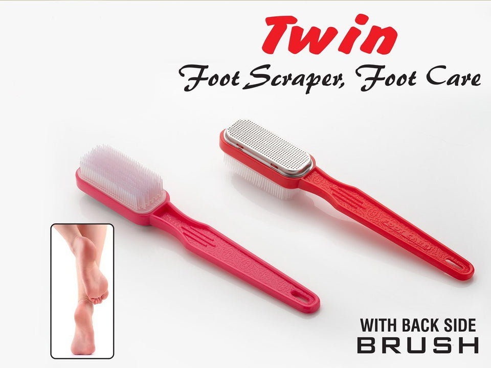 0301 Pedicure Foot Care - Foot Scrapper Brush - mstechindia.com