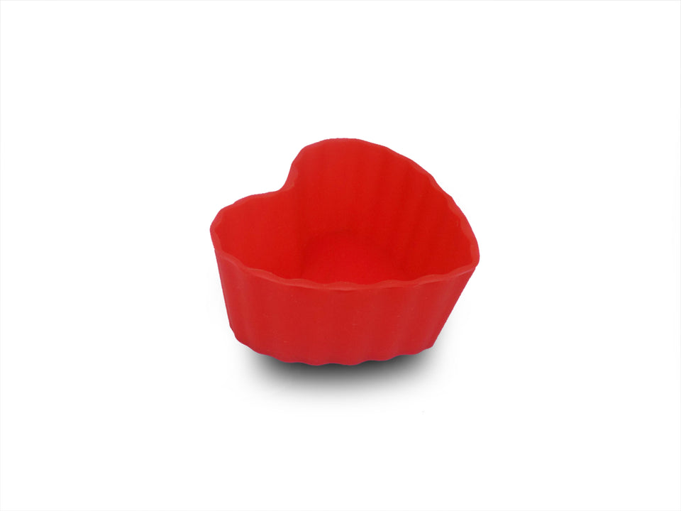 Silicone Heart Shape Baking Mould