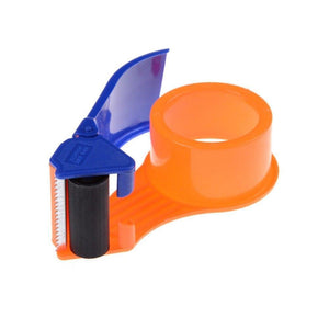 0456 2 Inch Plastic Handy Packaging Tape Dispenser, Packaging Tape Cutter Machine, Packaging Boxes Roll Roller Cutter Parcel Cartoon Sealer, Packing Tool
