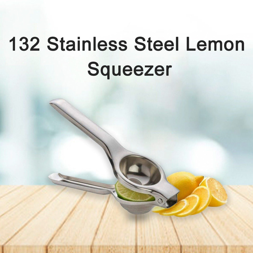 0132 Stainless Steel Lemon Squeezer - mstechindia.com