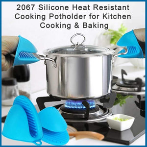 Silicone Heat Resistant Cooking Potholder for Kitchen Cooking & Baking 1 Pc