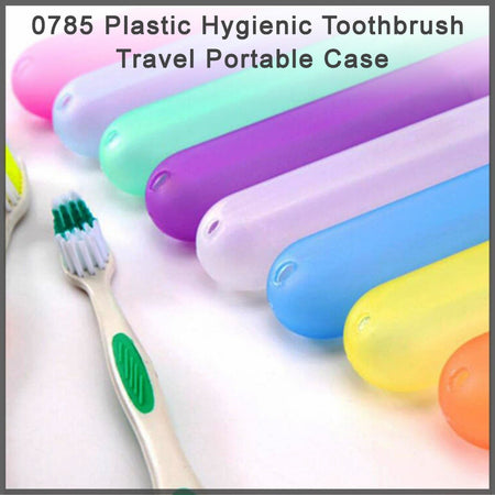 Plastic Hygienic Toothbrush Travel Portable Case