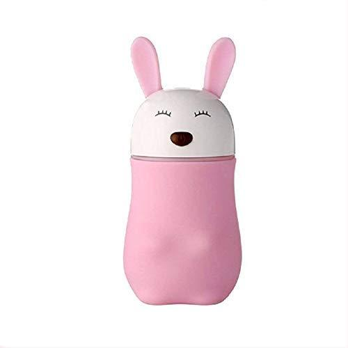 0361 Lovely Rabbit Air Humidifier USB Aroma Diffuse with LED Lamp Mini Ultrasonic Cool Mist Maker Fugger for Office Car Air Purifier - mstechindia.com
