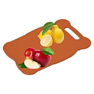 Premium Unbreakable ABS Free Kitchen Chopping Cutting Board with Handle