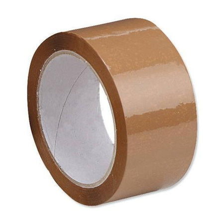 0948 Clear/Transparent Packing Tape (Plain Tape 65 Meters 41 Micron) - 1 Pcs