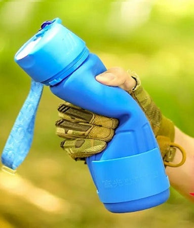 0326 Silicone Collapsible/Foldable Water Bottle - mstechindia.com