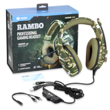 Zoook Professional Gaming Headset with immersive sound quality ZK-RAMBO