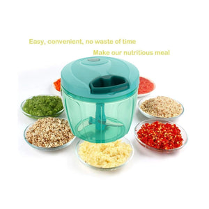 0101 Compact & Powerful Hand Held Vegetable Chopper (650 ml) - mstechindia.com