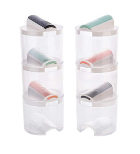 Multipurpose Easy Flow Plastic Container Box (6PCs)