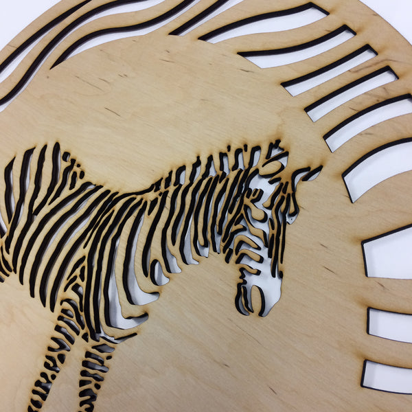 Zebra single layer