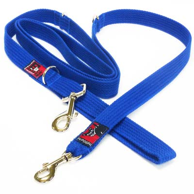 Black Dog Halter Double Lead 2.2m