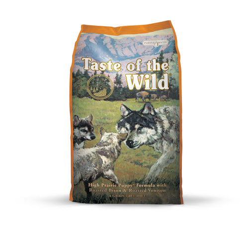 TASTE OF THE WILD High Prairie Bison Venison Puppy