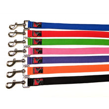 Load image into Gallery viewer, Black Dog Halter Double Lead 2.2m