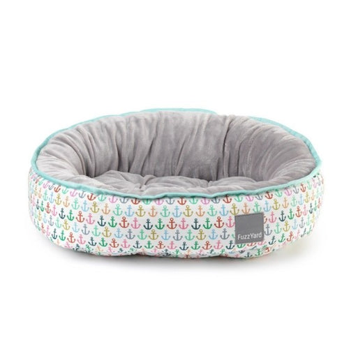 FuzzYard Ahoy Reversible Dog Bed - Large