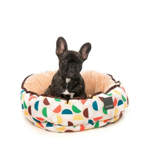 FuzzYard Polka Polka Reversible Dog Bed - Large