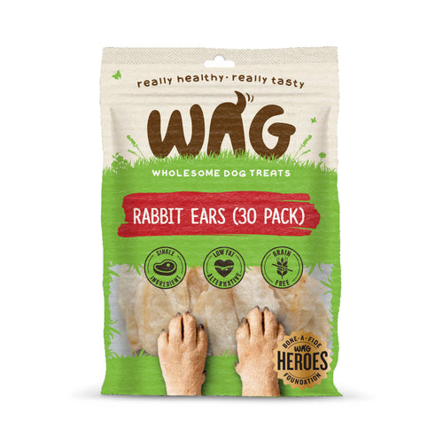 WAG Rabbit Ears (30 Pack)
