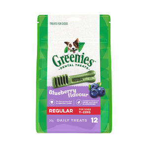 GREENIES Blueberry Dog Dental Treats 340g