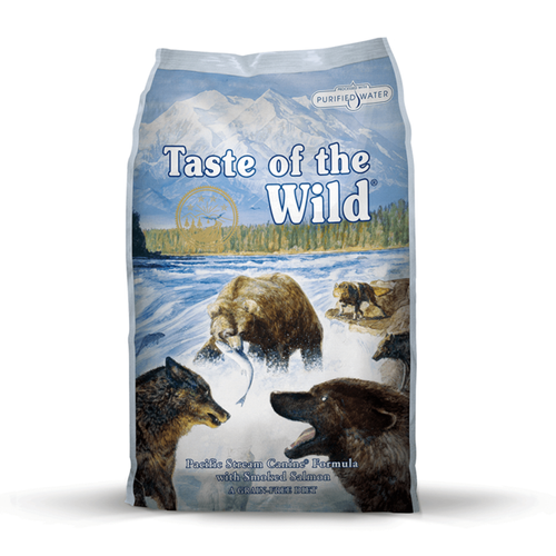TASTE OF THE WILD Pacific Stream Smoked Salmon