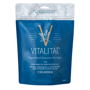 VITALITAE Biscuits Calming Superfood Dog Treat 350g