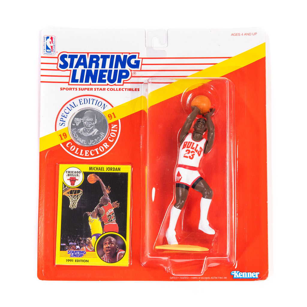 Montage Vintage - Michael Jordan Starting Lineup Figurine - '91 Special Edition