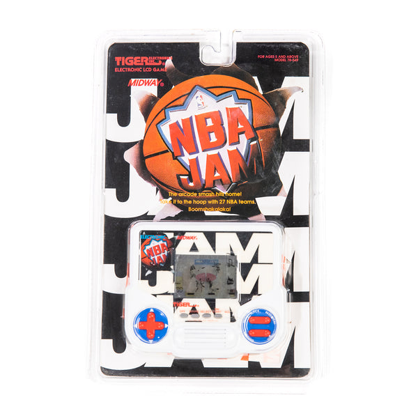 Montage Vintage - NBA Jam - Tiger Electronic Game